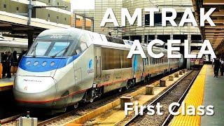 Download AMTRAK ACELA First Class - what's it like? Video