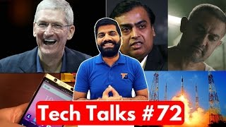Download Tech Talks #72 - Apple Hits Nokia, Jio on Risk, Aadhaar Payment App, ISRO World Record Video