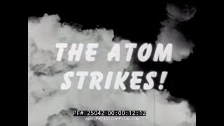 Download 1945 U.S. ARMY REPORT ON ATOMIC BOMBING OF JAPAN 25042 Video