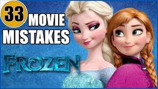 Download 33 Mistakes of Disney's FROZEN You Didn't Notice Video