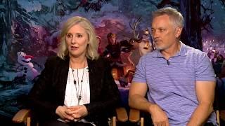 Download Olaf's Frozen Adventure Directors Stevie Wermers-Skelton & Kevin Deters Interview Video