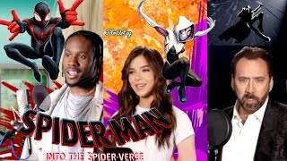 Download Spider-Man: Into the Spider-Verse Behind The Voices & B-Roll   Hailee Steinfeld Video