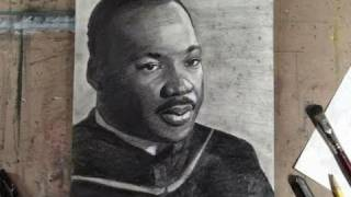 Download How to Draw Dr. Martin Luther King Jr. Step by Step Portrait Video