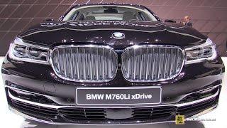 Download 2016 BMW M760i xDrive v12 600hp - Exterior and Interior Walkaround - 2016 Geneva Motor Show Video