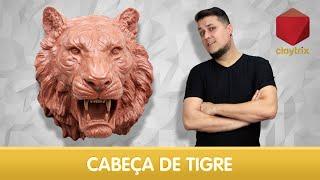 Download Cabeça de tigre (Speed sculpt)   Claytrix (T02E15) Video