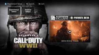 Download HOW TO PREORDER COD WW2 RIGHT NOW ON THE PS4/XBOX ONE/PC Video