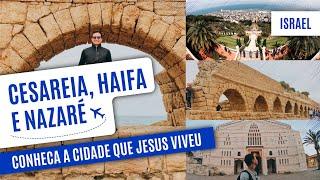 Download Tour por Israel: CESAREIA, HAIFA e NAZARÉ Video