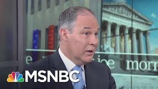 Download Scott Pruitt: Paris Climate Deal Put US At Economic Disadvantage (Full) | Morning Joe | MSNBC Video