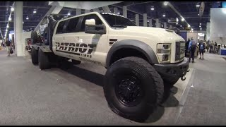 Download Nothing but Ford trucks at the SEMA show Las Vegas Video