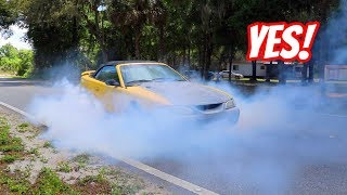 Download $400 Mustang GT 5.0! Will It Do a Burnout? Video