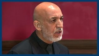 Download Hamid Karzai   The State of Afghanistan   Oxford Union Video