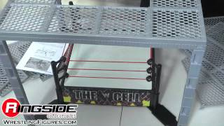 Download WWE THE CELL Wrestling Ring by Mattel Toy Wrestling Action Figure Playset Hell In A Cell Video