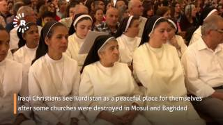 Download Kurdistan opens major new church for local and refugee parishioners Video
