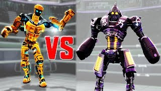 Download Real Steel WRB ATOM GOLD DANCE EVENTS ART OF WAR VS ATOM & Noisy Boy & Blacktop Video