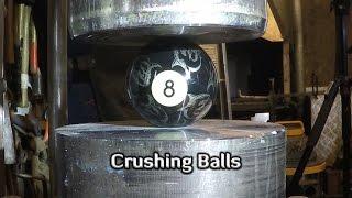Download Hydraulic Press | 9 Different Balls Video