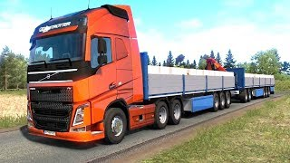 Euro Truck Simulator 2 - Renault Magnum Dump Trailer Pick Up