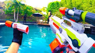 Download Nerf War: First Person Shooter 7 (feat. Donald Trump and Hillary Clinton) Video