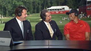 Download Tiger Woods talks about his return to golf at Quicken Loans Video