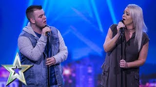 Download Lucy presses her Golden Buzzer for mother & son duo Sharon and Brandon | Ireland's Got Talent 2019 Video