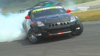 Download Drift Nissan 350 Z Edelbrock E-Force Supercharger (Pure Sound) Full HD Video