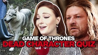 Download Game of Thrones Cast Take Ultimate Dead Characters Quiz Video