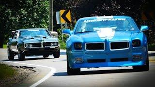 Download 1968 Pontiac Firebird vs 2010 Lingenfelter Trans Am - Generation Gap: Firebirds Video