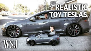 Download Toy Teslas, Trucks Sport Realistic Details Video