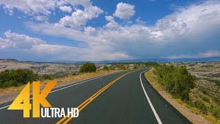 Download 4K Scenic Byway 12 | All American Road in Utah, USA - 5 Hour of Road Drive with Relaxing Music Video