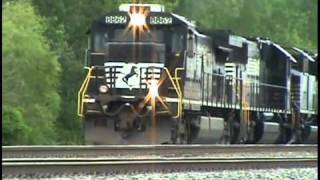 Download Exploding Turbo Charger: NS Locomotive Failure With a Smoke Show Near Toledo, Ohio. Video