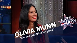 Download Olivia Munn: Kate McKinnon Is Almost Too Funny To Work With Video