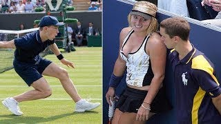 Download اذا كنت تحب كرة التنس لا تشاهد هذا الفيديو... أنظروا ما حدث !! Video