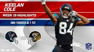 Download Keelan Cole's Crazy Game w/ 7 Grabs, 186 Yds & 1 TD! | Texans vs. Jaguars | Wk 15 Player Highlights Video