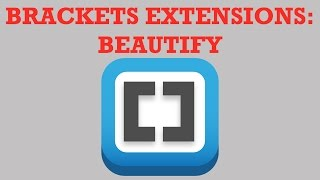 Download Brackets Extensions - Beautify Video