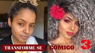 Download TRANSFORME-SE COMIGO (3) MAQUIAGEM VERMELHA - Bruna Ramos Video