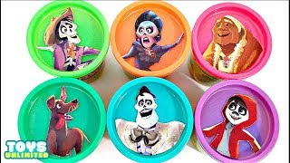 Download Disney Pixar's COCO Play-Doh Lid TOY SURPRISES with Miguel Rivera Video