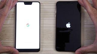 Download Google Pixel 3 XL vs iPhone XS Max - Speed Test! Video