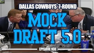Download Dallas Cowboys 7-Round Mock Draft 5.0 Video
