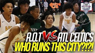 Download A.O.T vs. ATL Celtics | Matchup the WHOLE CITY wanted GOES DOWN at the Tip Off Classic Video