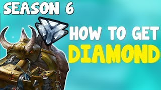 Download How To Get Diamond In Overwatch Season 6 | How To Rank Up Fast In Overwatch Competitive Season 6 Video