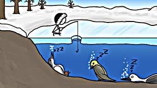 Download Birds that Hibernate in Lakes?! Video