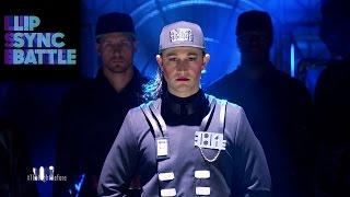 Download Joseph Gordon-Levitt's ″Rhythm Nation″ vs. Anthony Mackie's ″2 Legit 2 Quit″ | Lip Sync Battle Video