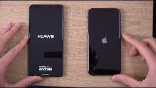 Download Huawei Mate 10 Pro vs iPhone X - Speed & Camera Test! Video