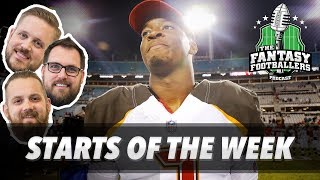 Download Fantasy Football 2017 - Starts of the Week, Week 2 Matchups, Players to Watch - Ep. #436 Video
