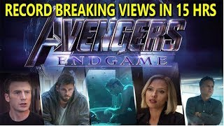 Download Avengers End Game Trailer Breaks All Record On Youtube In 15 Hours I It Will Cross 50 Millon In 24Hr Video