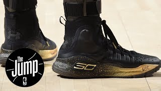 Download Steph Curry responds to Kevin Durant's dig at Under Armour   The Jump   ESPN Video