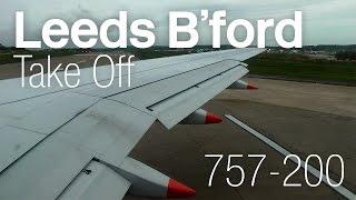 Download Jet2 ✈ Boeing 757-21B G-LSAG ✈ Leeds Bradford Departure 【HD 1080p】 Video