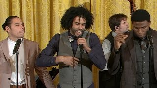 Download Hamilton cast performs ″Alexander Hamilton″ at White House Video