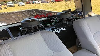 Download BUDGET 2 12″ CUSTOM SUBWOOFER BOX BUILD IN A NISSAN FRONTIER Video