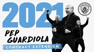 Download PEP GUARDIOLA | CONTRACT EXTENSION | Exclusive Interview Video