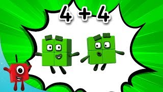 Download Numberblocks - Combo Breaker! | Learn to Count | Learning Blocks Video